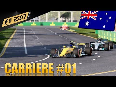 Une reprise difficile - Carrière F1 2017 #01 (PS4)