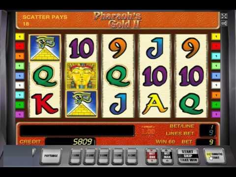 Игровой автомат Pharaohs Gold