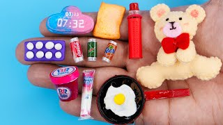 12 DIY MINIATURE FOOD AND DRINKS HACKS AND CRAFTS !!!