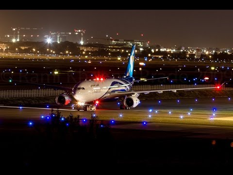 Singapore Wallpaper Hd Oman Air Take Off At Night From Muscat Airport Youtube
