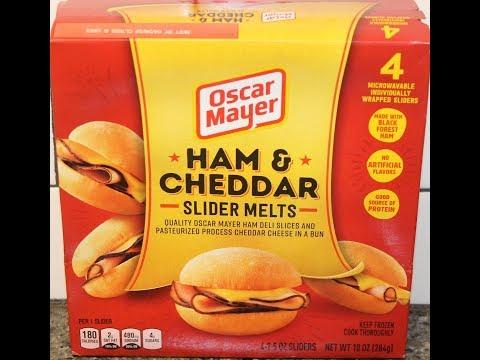 Oscar Mayer: Ham & Cheddar Slider Melts Review