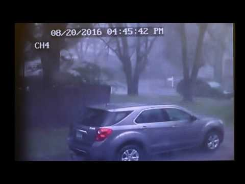 Camera records tornado damage in real time