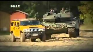 HUMMER H2 and Leopard 2A6.flv thumbnail