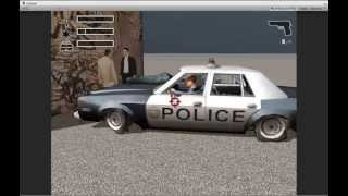 Repeat youtube video Unity3D DRIV3R damages system prototype test#1