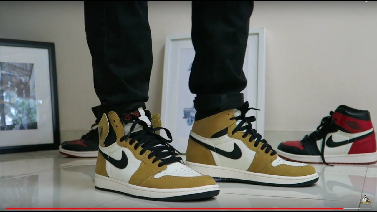 527c03e573097a Air Jordan 1 Camel Toe (Rookie Of The Year) - Closer Look and On Feet