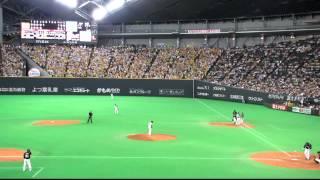 2012年6月3日(日)に札幌ドームで行われた対阪神交流戦での一コマ。史...