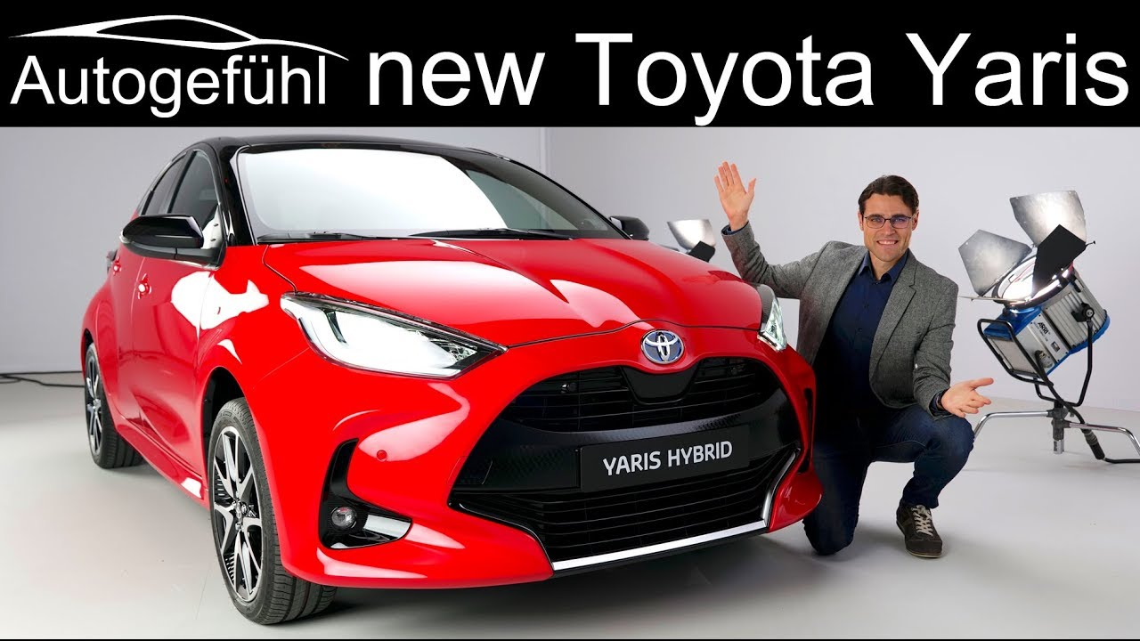 All New Toyota Yaris Review Exterior Interior 2020 Autogefuhl Youtube