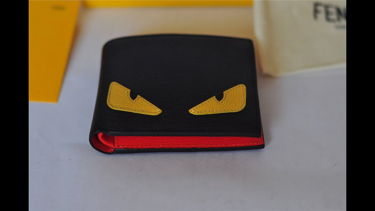 e5c3595b2c34 Fendi Wallet Monster alan-ayers.co.uk