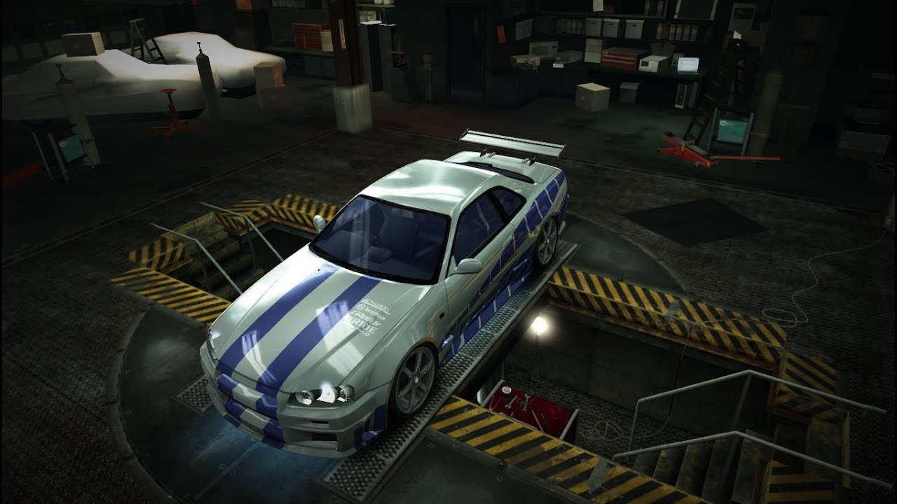 "Nissan Skyline Fast And Furious 2 >> NFS World - Vinyl tutorial: How you make Brian's ""2 Fast 2 Furious"" Nissan Skyline HD - YouTube"
