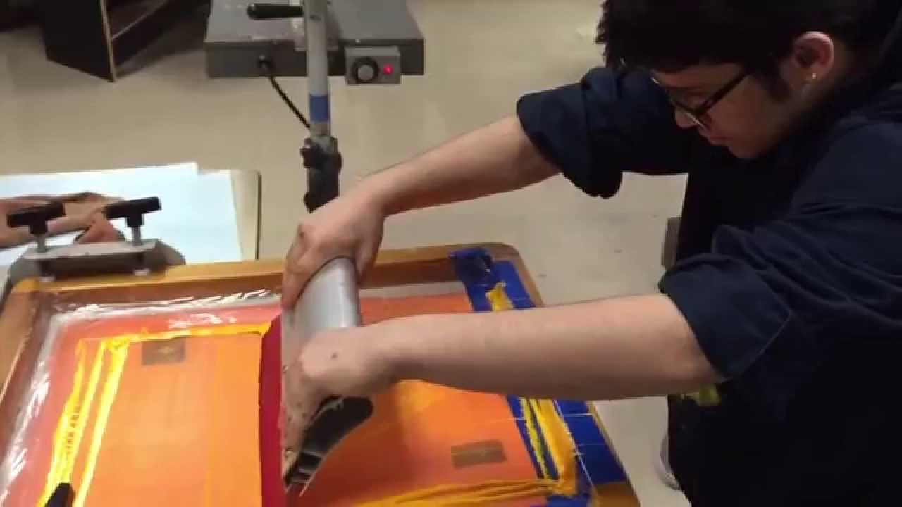 Le t shop making of obsek 4 color process cmyk t shirt youtube - Cmyk Screen Printing At Cacc