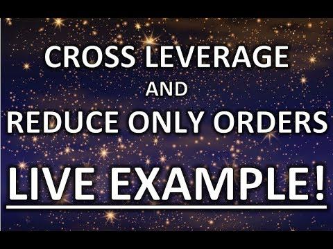 LIVE BITCOIN TRADING TUTORIAL - REDUCE ONLY ORDERS AND CROSS MARGIN EXPLAINED