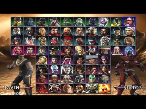 Como Desbloquear Personagens Secretos do Mortal Kombat Armageddon (PS2)  Blaze, Daegon, Meat e Taven