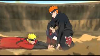 Naruto vs Pain [AMV] Skillet - Whispers in the Dark