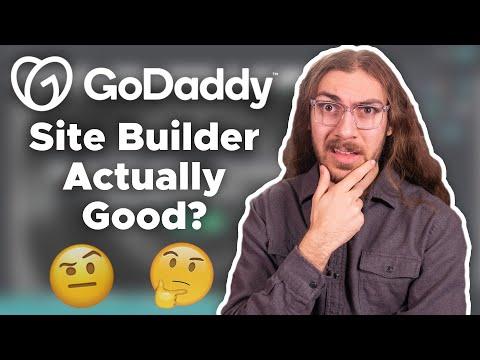 The Squarespace Killer? | GoDaddy Website Builder Review