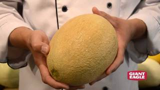 How to Pick a Ripe Cantaloupe or Honeydew Melon | Giant Eagle