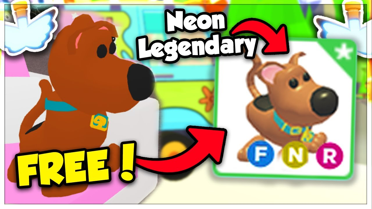 New Free Legendary Scoob Pet In Adopt Me Scooby Doo Pet Location Roblox Youtube