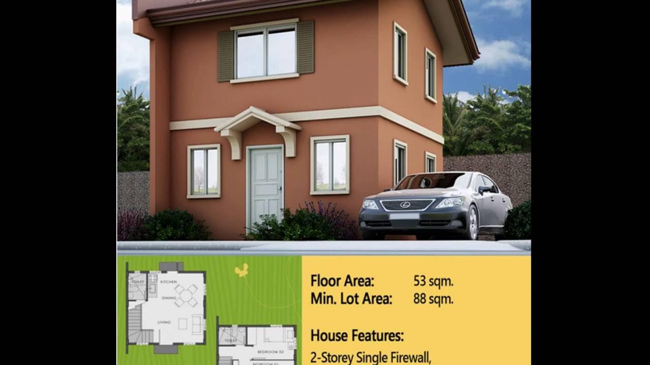 Bella Easy Homes Series Camella House Model In Camella Bulacan