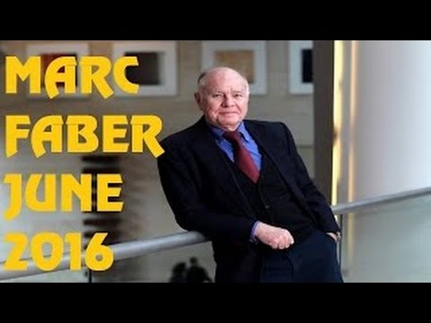 Marc Faber WARNING Gold Silver Price Stocks Market Financial Cr 2016