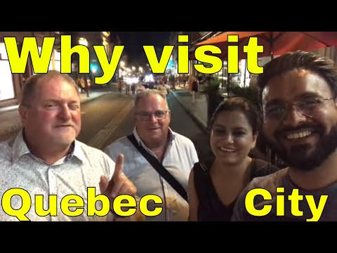 Why Visit Quebec City in Canada? | Canada Couple Vlogs