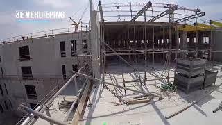 Nieuwbouw Amphia Ziekenhuis ruwbouwfase