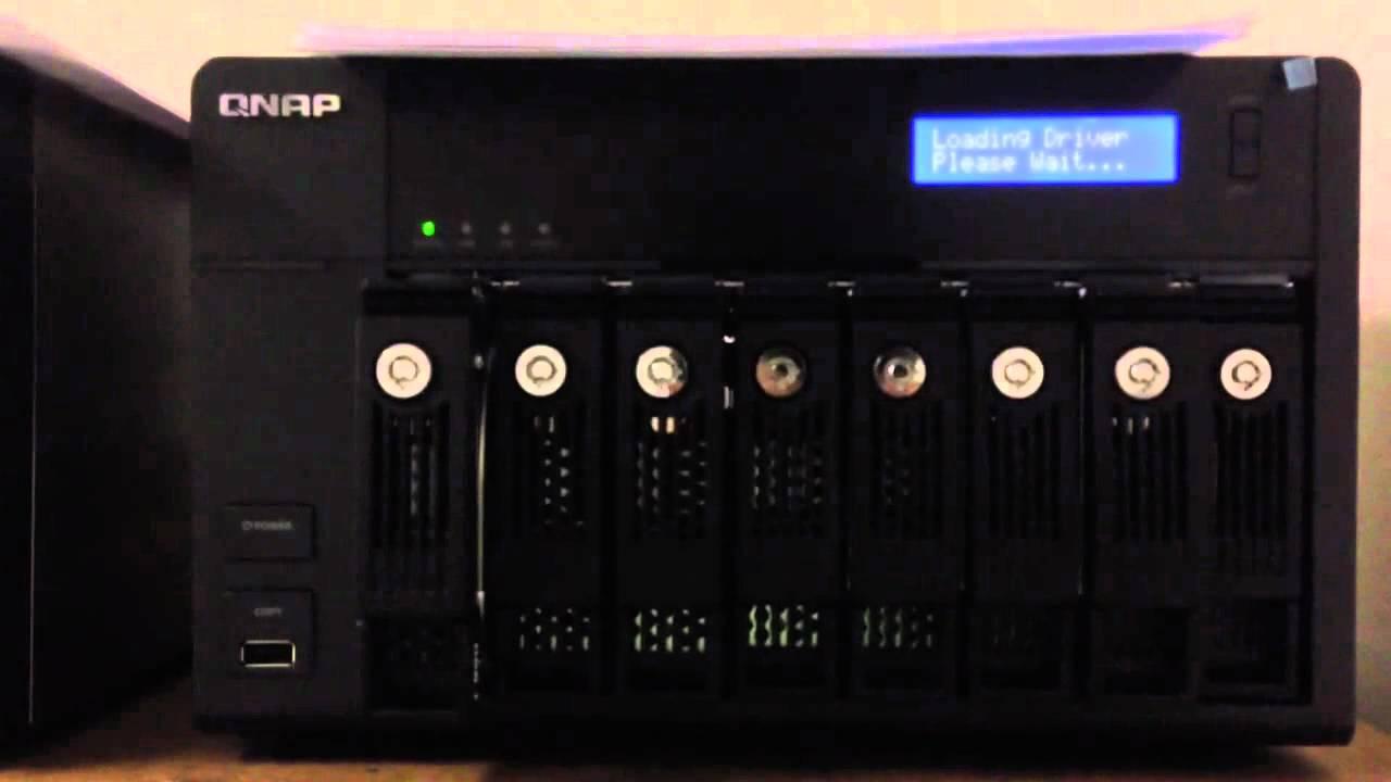 QNAP TS-859Pro+ TurboNAS QTS Treiber Windows XP