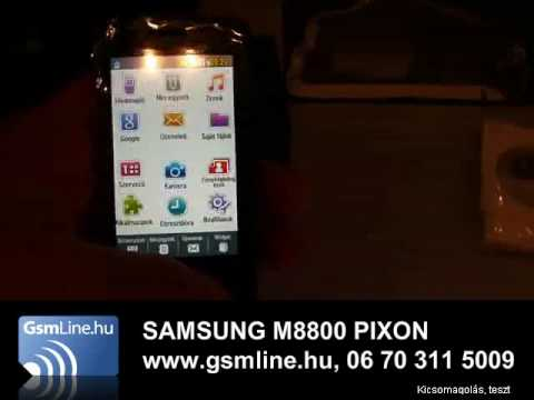 SAMSUNG M8800 PIXON | www.GsmLine.hu