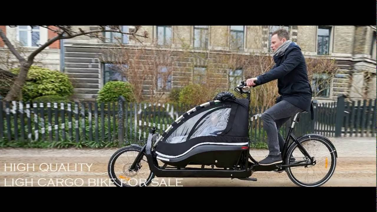 Cargo Bike For Sale Youtube