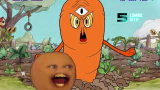 Mugen Request Annoying Orange vs The Root Pack (Cuphead)
