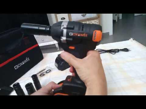 Llave Impacto, GOXAWEE 20V Atornillador de Impacto, Una herramienta multifunción de calidad