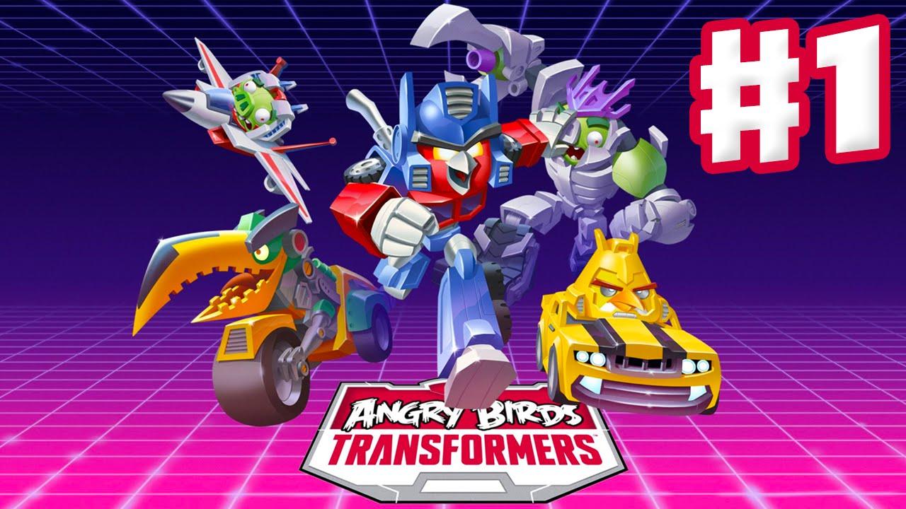 Transformers Angry Nautica Birds