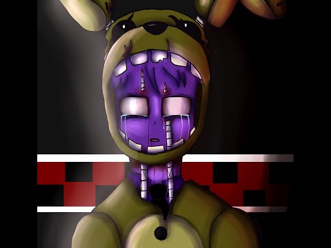 Fnaf3 speedpaint purple guy s death