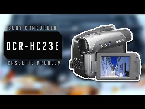 SONY HANDYCAM DCR-HC23 WINDOWS 7 DRIVERS DOWNLOAD (2019)