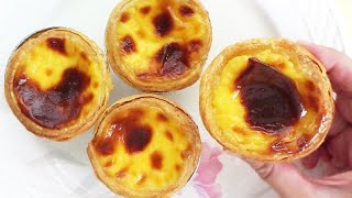 Portuguese Egg Tarts (葡式蛋挞) **
