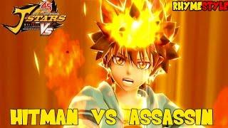 Hunter x Hunter vs Hitman Reborn: Hitman vs Assasin! Fire Tsuna vs Lightning Killua