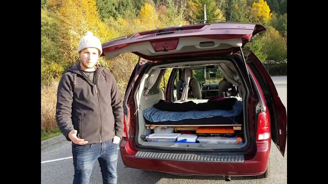 Ford Freestar Camper Van Conversion