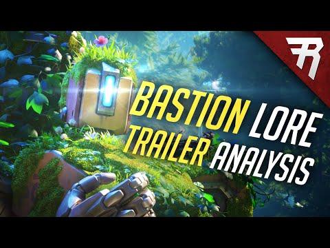 Overwatch Bastion Animated Short Trailer (Lore Origin Story Analysis)