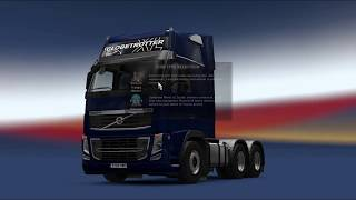Euro Truck Simulator - Volvo Truck 5000Hp Engine!!! Game play