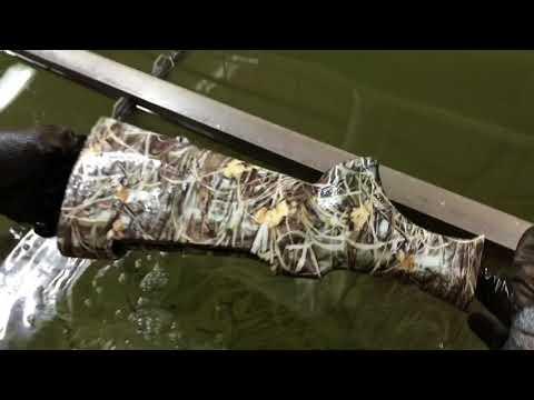 Камуфлирование оружия. Аквапринт ружья (приклад и цивье) текстура - камуфляж под камыш