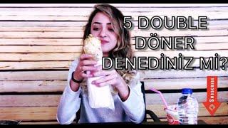 27 DAKİKADA 5 DOUBLE DÖNER!-Bir Kümes Tavuk Yedim