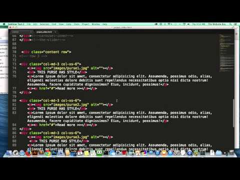 Bootstrap Complete Course #5 Installing The Slider Into Our Website Or HTML Page