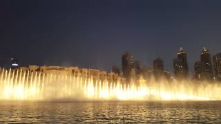 Dubai Fountain 2015 4K UHD