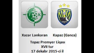 Khazar Lenkoran vs Ganja full match