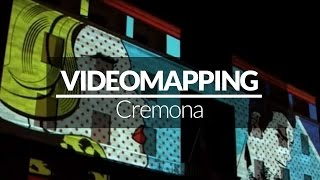 VIDEO MAPPING a Cremona - Giochi di Luce