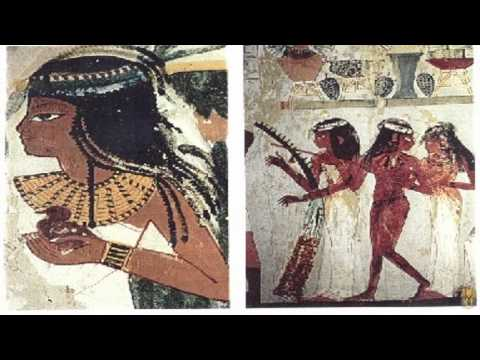 AFRICAN ANCIENT EGYPTIAN CUSTOMS AND INSTRUMENTS