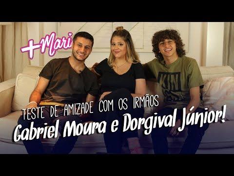 Teste de amizade com os irmãos Gabriel Moura e Dorgival Júnior!