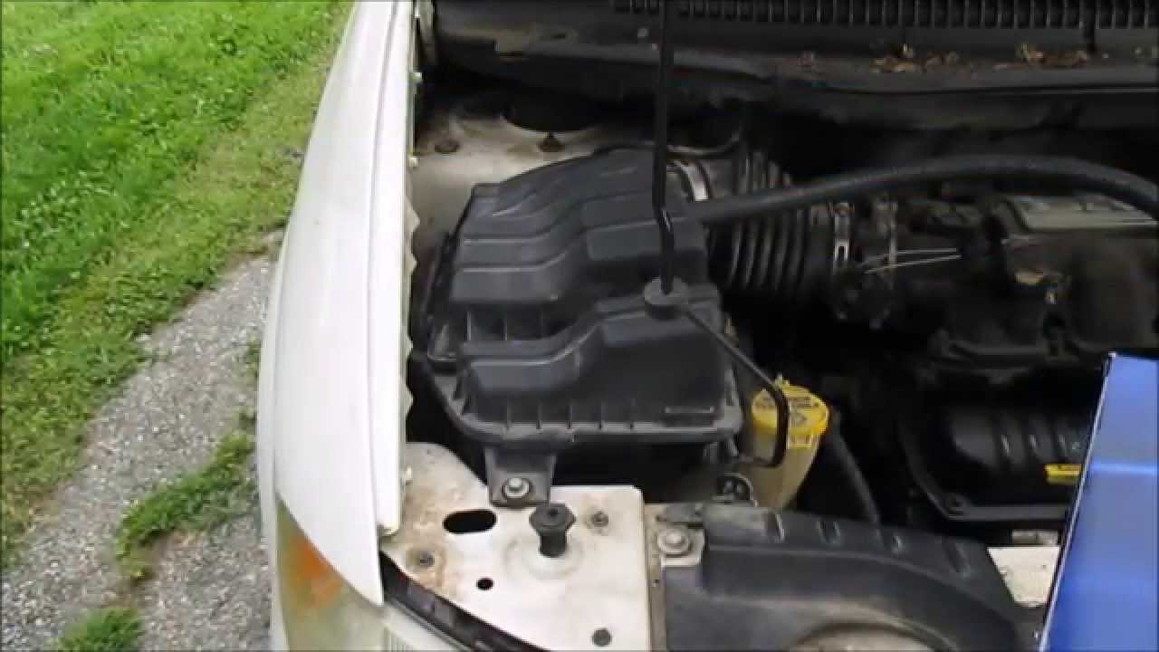 Dodge caravan air filter replacement youtube for 2006 dodge grand caravan cabin filter location