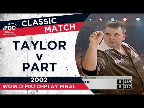 Taylor v Part - 2002 World Matchplay Final - Extended Highlights