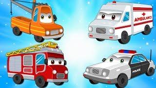 street vehicles w ambulance ca