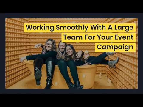 Working With A Large Team For Your Event Campaign | User Management Feature | Yapsody