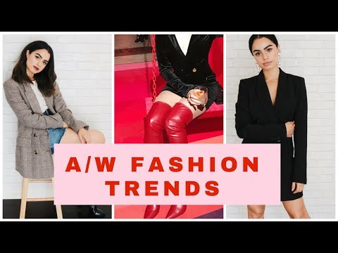 FASHION TRENDS WINTER2017/2018